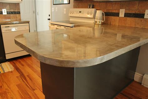 cement kitchen countertops diy concrete kitchen countertops a step by step tutorial