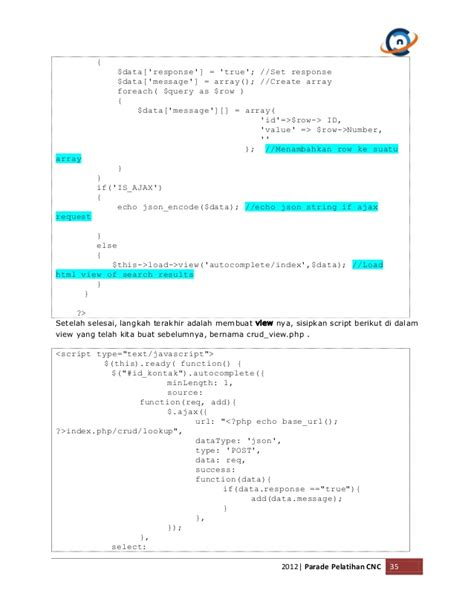 membuat json dengan codeigniter membangun aplikasi sms dengan gammu dan php framework