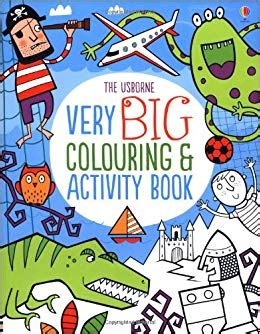 very big colouring and activity book 9781409566519 amazon com books