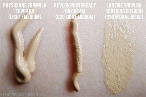 Revlon Bb Cushion bb creamology physicians formula revlon and laneige