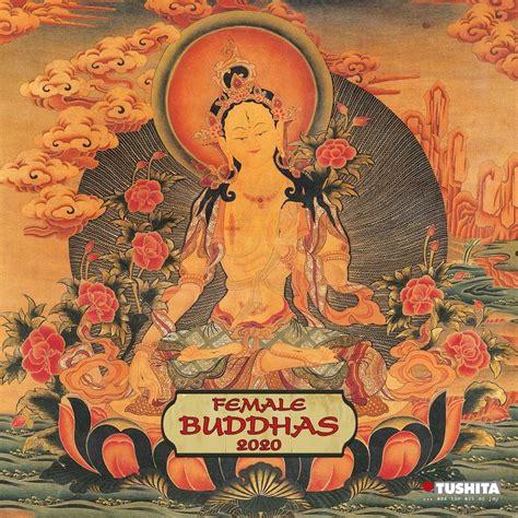 female buddha  art  wall calendar