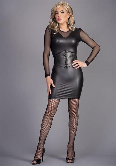 Dress Black Onde Mtf Image Result For Crossdressers In Leather Cds Etc