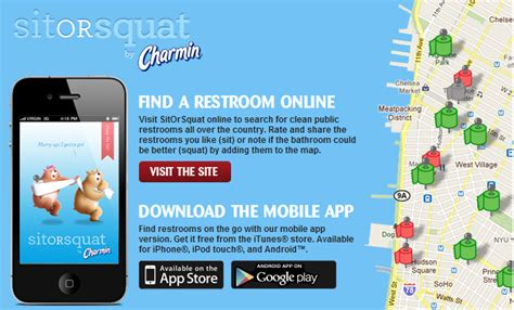 Charmin Bathroom App Find Clean Bathrooms During Your