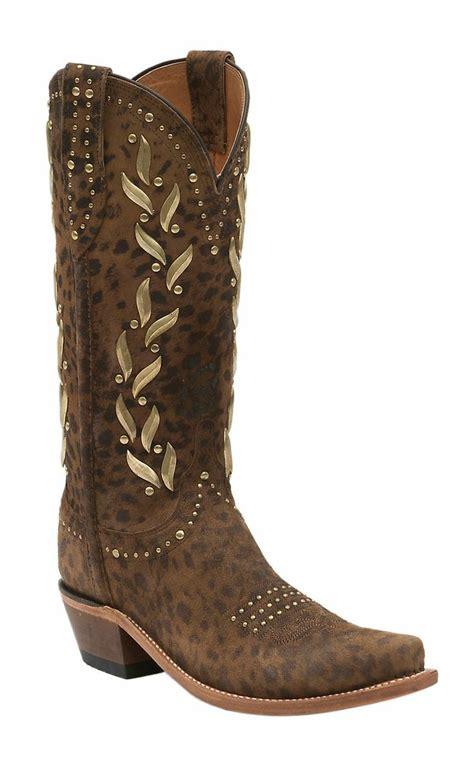 Cheetah Boots lucchese 1883 s cheetah print snip toe western boots