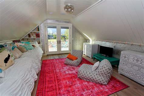 teen attic bedroom fun teenage bedroom located in the attic the bedroom has
