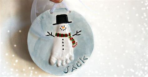 printable snowman ornaments pop out snowmen foot print ornament holidays pinterest