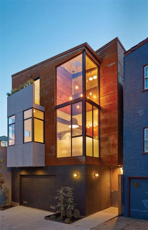 home design store san francisco two urban homes on one plot of land in san francisco