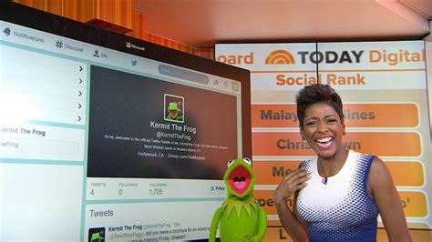 today show orange room kermit the frog takes today s orange room takes on today