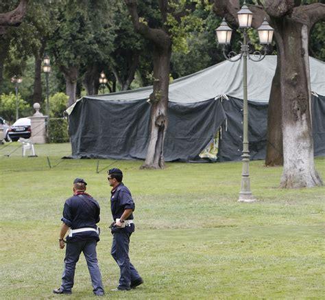 tenda gheddafi gheddafi oggi in italia la tenda a villa phili