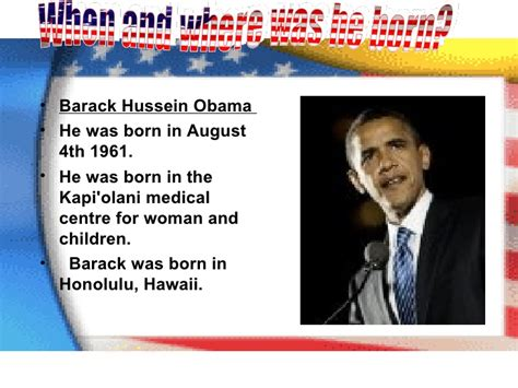 barack obama biography presentation barack obama s life until now