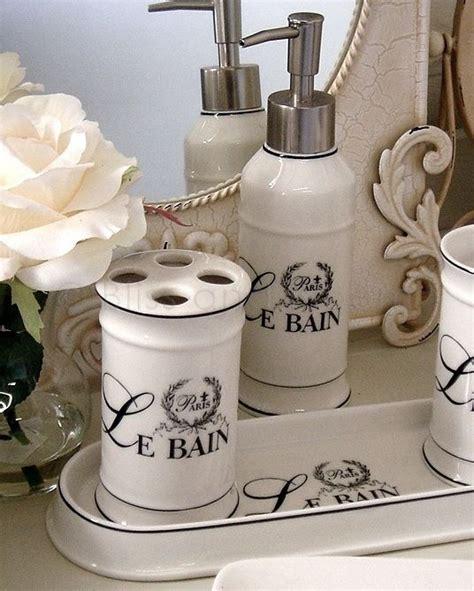 le bain bathroom le bain 3pc bathroom set bliss and bloom ltd