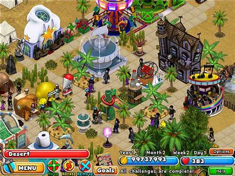 download theme park pc game dream builder amusement park game play free download