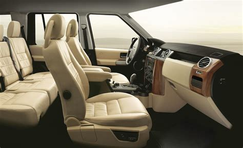 Land Rover Lr3 Interior car and driver