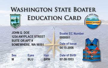 Wsu Mba Requirements by Licensing A Boat In Washington State Newsswissyp