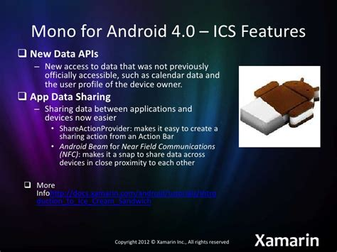 xamarin mono tutorial mono for android 4 0 introduction