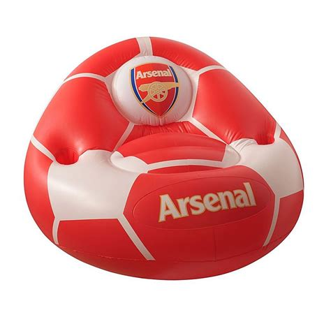arsenal direct arsenal inflatable chair