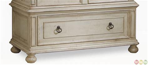 whitewash armoire provenance country whitewash finish wardrobe armoire