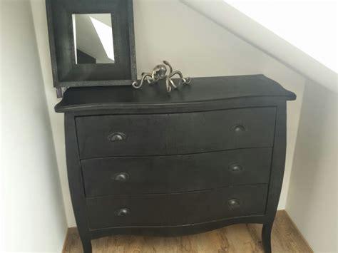 kommode in schwarz kommode sideboard holz schwarz wohnen wohnaccessoires