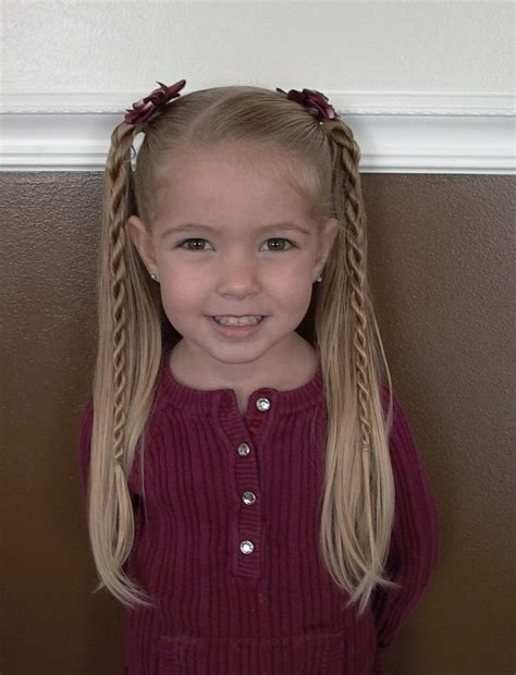 hairstyles for girls ages 5 7 only best 25 ideas about easy little girl hairstyles on