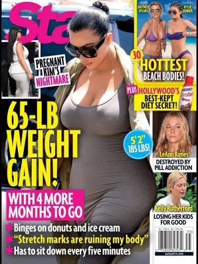 Magazine Gain Weight by Kanye West Pissed About S Pregnancy Weight