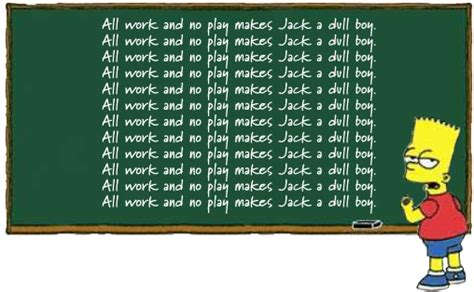 All Work No Play by Creative Work Quinncreative
