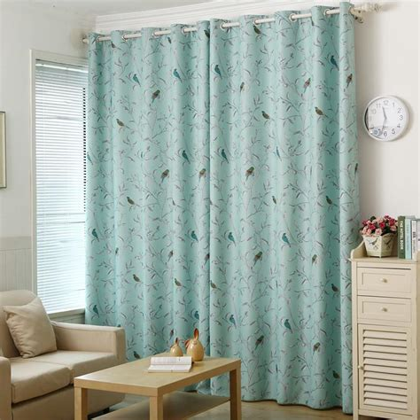 Bird Window Curtains Blue Bird Curtains Curtain Ideas