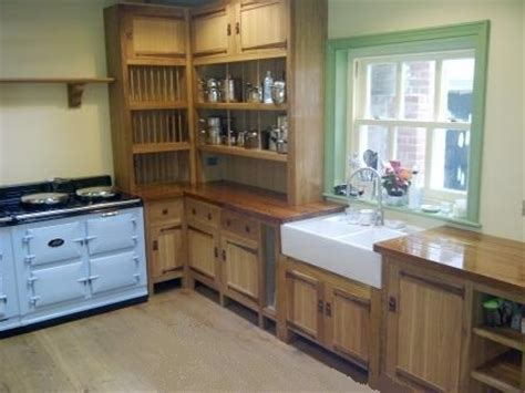 unfitted kitchen furniture arts crafts movement cfa voysey style fitted