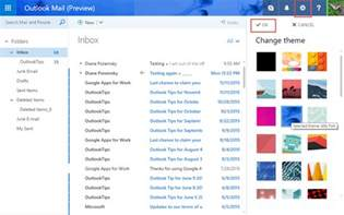 change outlook color scheme changing outlook color schemes