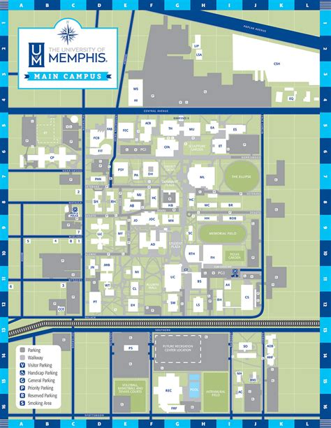 terra department of architecture university of memphis uofm cus maps cus maps university of memphis