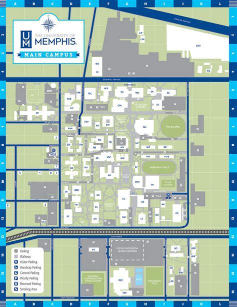 Uf Dorms Floor Plans by Uofm Campus Maps Campus Maps University Of Memphis