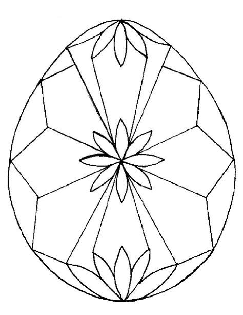 egg design coloring page easter pages to color coloring part 10