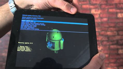 how to factory reset android tablet next tabloit reset android tablet format atma