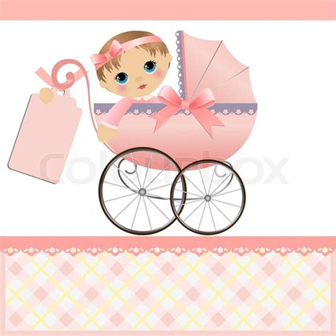 Superior Baby Pink Paint Color #5: 2512018-cute-template-for-baby-arrival-announcement-card.jpg