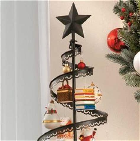 metal christmas tree ornament holders 89 quot metal ornament display tree indoor decor gold or black ebay