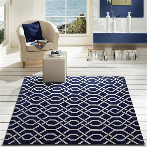 navy blue area rugs contemporary modern contemporary navy blue bedroom area rug rug addiction