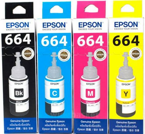 Tinta Printer Epson L365 jual tinta printer epson original l350 l355 l360 l365 l455