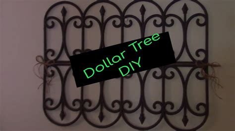 dollar tree diy garden fence wall decor youtube