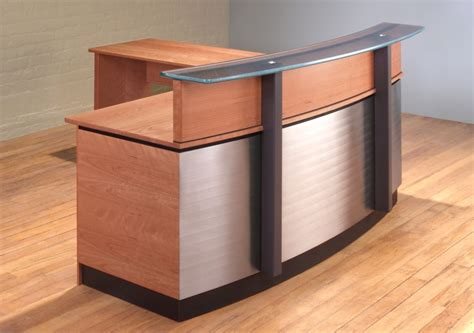 L Reception Desk L Shaped Reception Desk To Reception Area Decor Babytimeexpo Furniture