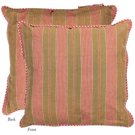 matratze quadratisch mattress stripe rectangle pillow cover heritage lace