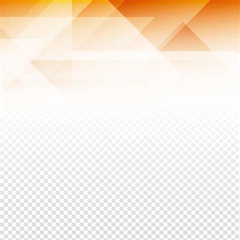 transparent backgrounds orange polygonal shapes on a transparent background vector