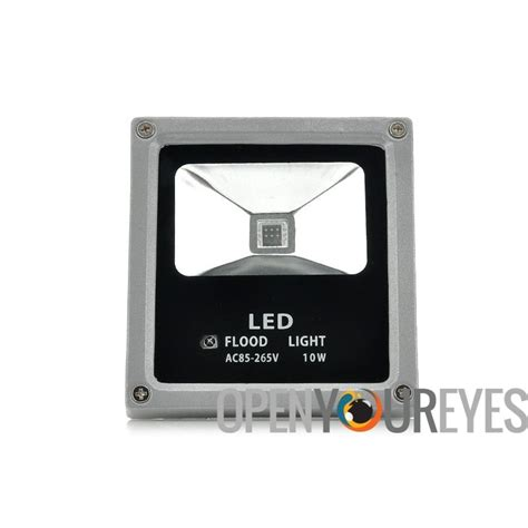 remote control outdoor flood lights led flood light 10w waterproof outdoor use multicolor