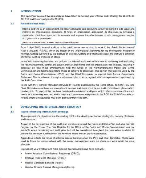 it audit plan template audit plan template audit plan template free sle audit