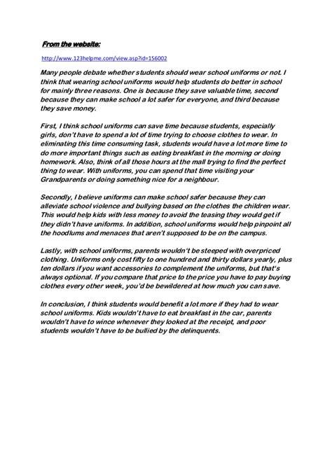arguments against school uniform essay homework academic writing service