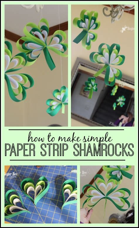 How To Make Paper Shamrocks - 3세 엄마표미술활동 ㅣ 유아미술활동 paper shamrocks 네이버 블로그