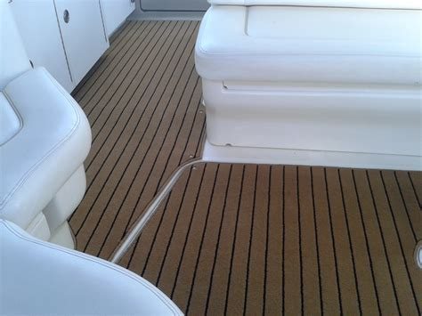 boat carpet wood look searay sundancer teak black carpet prestige marine
