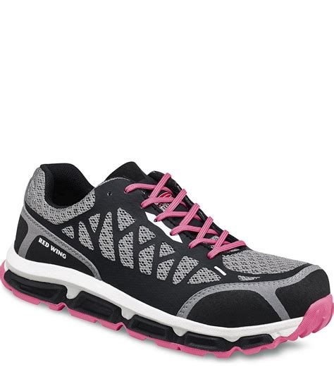 Sepatu Safety Safetoe 2339 wing s athletic gray pink supplier