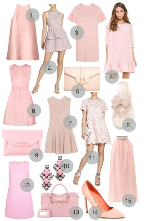 8 Pretty Blush Coloured Clothes by Blush Colored Dress Gal Meets Glam Bloglovin