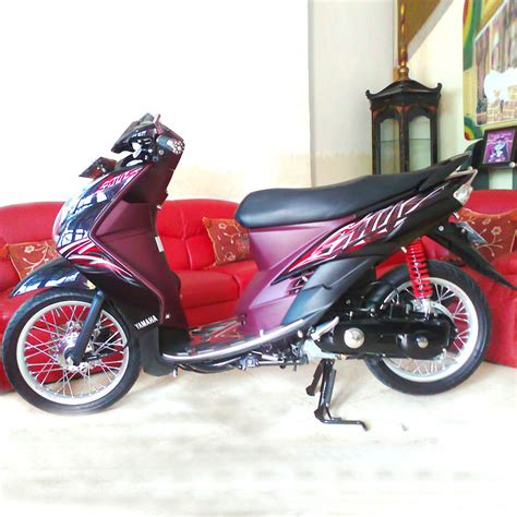 Modif Mio Sporty Jari Jari by Modifikasi Mio Velg 14 Jari Jari Modif Motor Terbaru 2017