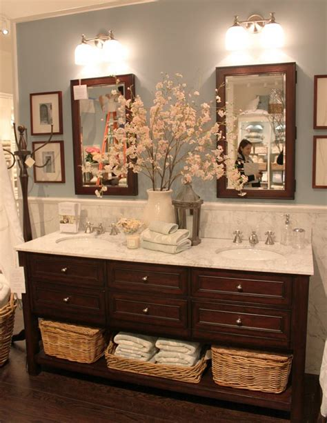 pottery barn bathrooms ideas relaxing flowers bathroom decor ideas that will refresh your bathroom