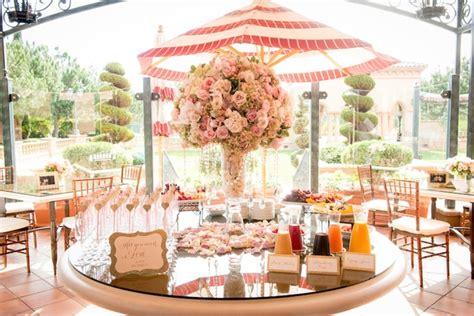 blush pink bridal shower decor gold ivory blush bridal shower at the fairmont grand mar inside weddings